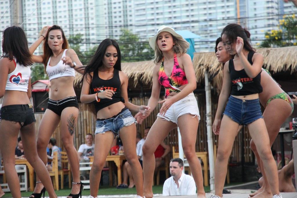 Sexy korean girls in satin