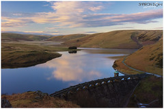 Craig Goch Dam (Sharon Dow Photography) Tags: uk mountain holiday nature water beautiful wales architecture clouds trekking wow reflections walking landscape spring nikon scenery view britain hiking ngc arches historic reservoir breconbeacons hills attractive fields waterworks naturalworld cloudporn retainingwall midwales cloudreflections 2016 elanvalley theblackmountains craiggochdam topdam historicdam craiggochreservoir masonrydam nikond7100 theloveofwater sharondowphotography april2016 spring2016 topdamelanvalley mynyddoeddduon