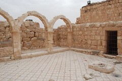 Qasr Hallabat - Umayyad Palace (jrozwado) Tags: museum asia mosaic jordan islamic umayyad desertcastle umayyadpalace   hallabat qasralhallabat