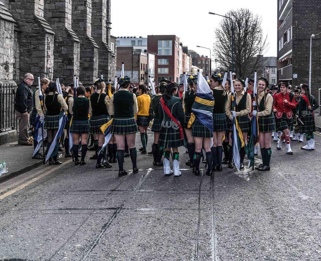 SHORECREST HIGH SCHOOL [ST. PATRICK'S PARADE IN DUBLIN 2016]-112226