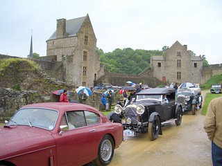 Vintage Car Rally at Fougere Castle