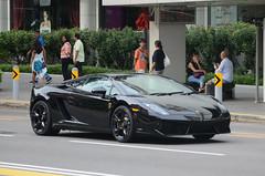 Lamborghini Gallardo LP 560-4 (nighteye) Tags: car singapore lamborghini gallardo lp5604