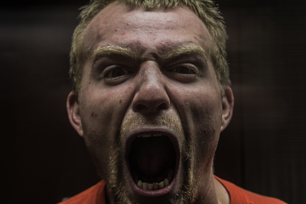 angry screaming face - photo #33