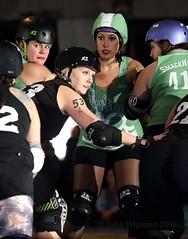 111__33223 (John Wijsman) Tags: rollerderby rollergirls indiana muncie skates partycrashers circlecityderbygirls cornfedderbydames gibsonskatingarena munciemissfits