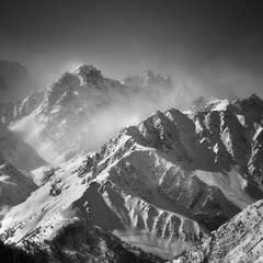 alps.View from Verbier. (Is_Anybody_Out_There...?) Tags: winter mountain snow alps monochrome montagne alpes landscape schweiz switzerland suisse nikkor paysage wallis valais noirblanc d800 isanybodyoutthere nikkor70200