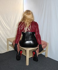 36 (read my Profile before anything!!!!!) Tags: black high buffalo highheels plateau skirt heels heel stiletto corsage stilettos higheels