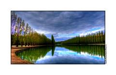 P1990087 (cowsandgirl71) Tags: de eau lumire panasonic reflet ciel nuage arbre parc couleur sceaux photomatix fz200 cowsandgirl71