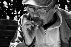 IlGiovediDiDomenico_16 (Naraphotos) Tags: portrait bar hands hand tram oldman mani mano spaghetti autobus ritratto caff reportage domenico sigarette panchina trattoria solitudine rotaie anziano amatriciana stampella gioved tranquilli