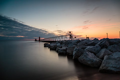 Grand Haven (randyr photography) Tags: sunset haven pier big long exposure grand lee stopper grandhaven puremichigan
