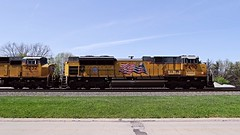 UP SD70ACe 8490 at Berea, OH (Laurence's Pictures) Tags: ohio train norfolk engine rail southern transportation locomotive freight csx berea