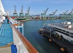 Ruby Princess - Sea of Cortez Cruise (Jasperdo) Tags: california cruise building architecture cruising sanpedro cruiseterminal losangelesharbor princesscruiseline worldcruisecenter berth93 rubyprincess