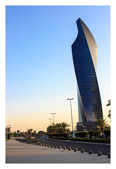 Twisty Building (Ravi Raj R - 3R) Tags: kuwait altijariatower alshaheedpark
