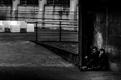 (Israel LIez Domnguez) Tags: street people urban blackandwhite blanco photography monocromo calle nikon negro documentary bn monocromatic nikkor journalism documental 55200mm nikond7100