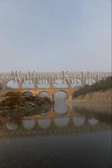 40080169 (wolfgangkaehler) Tags: bridge france water fog french europe european roman foggy bridges unescoworldheritagesite aqueduct nimes pontdugard fogbank aqueducts southernfrance 2016 1stcenturyad gardonriver garddepartment