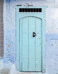 Details (Pamela Sia) Tags: travel blue colors doors morocco tiles chaouen