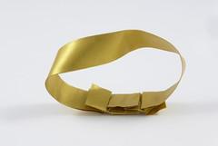 Möbius band (Michał Kosmulski) Tags: origami geometry band strip math mathematics moebius möbius metallicpaper singlesidedsurface michałkosmulski crosslapunitclu