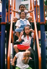 (Edgedale) Tags: playground children 50mm fujifilm charmaine elijah emmanuel olympusom1 asa200 germaine