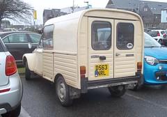 Citroen Acadiane (occama) Tags: old uk car french cornwall citroen ak 400 2cv van 1986 dyane ak400 acadiane d563nrl