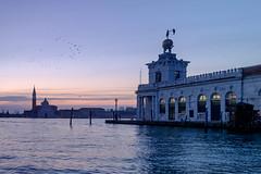 Morning in Venice (Meine Sicht) Tags: italien venice italia fuji fujifilm sangiorgiomaggiore canalgrande bergischgladbach fotokunst rauen vencia puntadelladogana xe2 fujinon18mmf20 wwwrauenfotode venedig2016