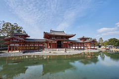 / The Phoenix Hall of Byodo-in (yiming1218) Tags: sky reflection japan architecture temple japanese kyoto sony   uji  worldheritage byodoin    a7ii      a7m2 fe1635 sel1635z ilce7m2 thephoenixhallofbyodoin