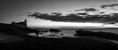 Outcrop (stephen cosh) Tags: longexposure mediumformat landscape scotland nightshot unitedkingdom gb dunure startrail stephencosh leicas006 45mmelmaritsscotland