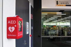 Stayin' Alive 30:2 (Blue Mountains Library) Tags: public library libraries equipment aed automaticexternaldefibrillator