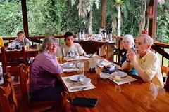 LC Uriel NancyBillO in dining area at Tambopata Research Center in Peru-03 5-31-15 (lamsongf) Tags: travel peru southamerica tambopata amazonbasin