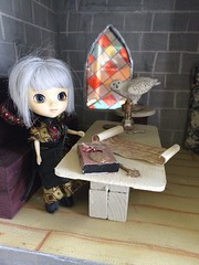 Castle close ups (trishahillery) Tags: castle diy doll wizard wand magic mini spell owl pullip hogwarts magical dollhouse