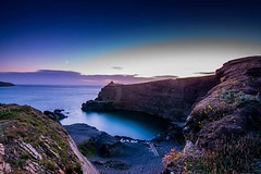 Blue Lagoon (^hanky1984^) Tags: longexposure sunset sea seascape colors wales sunrise coast seaside high nikon colorful cymru cliffs tokina serenity nd coastline bluehour pembrokeshire bluelagoon abereiddy coastalpath coastpath srb pembs 1116 nd1000 nikonpictures visitwales 10stopndfilter d5200 tokina1116mm tokina1116 10stopfilter srbgriturn visitpembrokeshire nikond5200 srbphotographic