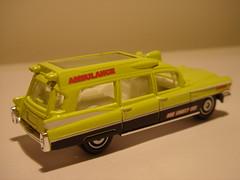 MATCHBOX 1963 CADILLAC AMBULANCE NO7 MBX COUNTY EMS 1/64 (ambassador84 OVER 6 MILLION VIEWS. :-)) Tags: cadillac ambulance matchbox diecast 1963cadillacambulance