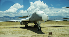 "B1-B Lancer ""Boneyard"" at Tucson (John Wiley) Tags: tucson az boneyard"