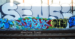 Vash, Doze (absolutetrashmag) Tags: philadelphia graffiti rollers doze vash sensi phillygraffiti phillygraff absolutetrash absolutetrashmag