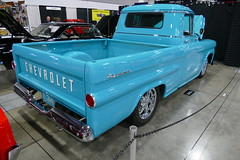 1959 Chevrolet (bballchico) Tags: chevrolet apache pickuptruck 1959 fleetside garypotter portlandroadstershow lisapotter