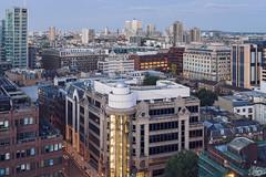 East London (Umbreen Hafeez) Tags: city uk light england building london architecture buildings dock europe long exposure cityscape low gb docklands citibank hsbc citi