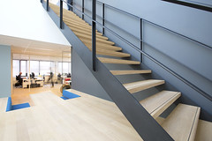 Office Interior (Matthijs Borghgraef | Kwikzilver) Tags: by architecture stairs office matthijsborghgraef interior steps staircase architects egm kwikzilver fokkemapartners