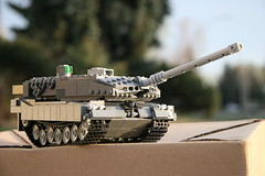 A Fresh Start (ABS Defence Systems) Tags: outdoors tank lego wip leopard vehicle mbt afv 2a6