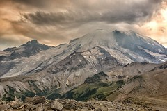 That Day (writing with light 2422 [NOT PRO]) Tags: sky landscape volcano hiking wideangle mountrainier mountrainiernationalpark epic stratovolcano thatday sigma1020mmlens sonya77 richborder