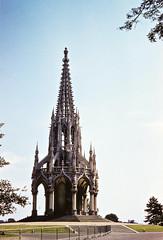 Leopold I Memorial, Parc de Laeken, Brussels, Belgium, 1958 (gbfernie5) Tags: brussels belgium gothic 1950s 1958 kodachrome neogothic leopoldimemorial parcdelaeke bobbieobritton