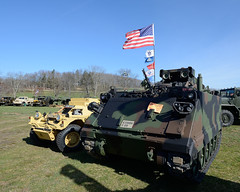 United Defense M901 Improved TOW vehicle (ITV) (albionphoto) Tags: usa lafayette jeep nj cadillac landrover willys oshkosh militaryvehicle m901 marshallofcambridge militarytransportassociation