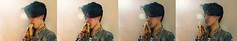 Don't Be A Dick (thewallflowers.) Tags: camera light portrait selfportrait fruit photoshop self canon photography photographer photoshoot bright photos banana shorthair innuendo reggie remi gauche canoncamera canonphotography selfportraitphotography