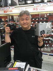 IMG_0252 (digitalbear) Tags: camera apple japan lumix tokyo google pentax panasonic nakano roppongi k1 fujiya mark2 gx7 iphonese