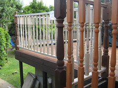 Deck Restoration (rev-fx) Tags: wood summer building outdoors woodwork outdoor patio deck restoration renovation decking