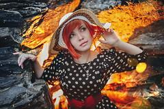 Plener season photo session (sergeyzamchalov) Tags: portrait girl hat stone garden photo nikon shine dress moscow style flame form  plener nikonphotography