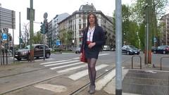 Milan - Viale Abruzzi (Alessia Cross) Tags: tgirl transgender transvestite crossdresser travestito