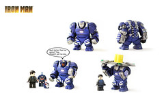 Lego Iron Man Mark 38 Igor Suit (Tuminio) Tags: 3 man movie iron lego mark figure custom igor 38 minifigure