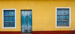 Door and Windows (Dalliance with Light) Tags: house wall casa cu colorful village cuba trinidad trescruces sanctispritus