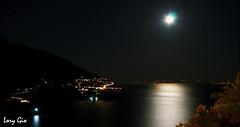 IMG_0184 (.lory.) Tags: city sea sky moon canon mare shadows luna cielo positano acqua riflessi luce amalfi citt riflesso costieraamalfitana canon400drebelxti lorygio