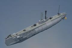 We All Live in a Bolish Submarine (Backward Matt) Tags: ship snorkel lego render submarine povray ldd lddtopovrayconverter suboat