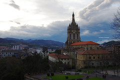 Basilica of Begoa (Iker Merodio | Photography) Tags: art pentax basilica country sigma bilbao bizkaia basque euskadi basilika 30mm biscay k50 begona