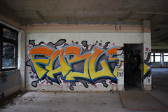 FABLE (Kalimbah!) Tags: photography graffiti paint derelict fable urbex